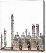 Stream Power Plant  Canvas Print