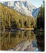 String Lake Grand Teton National Park Canvas Print