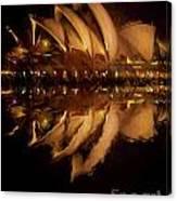 Sydney Opera House Abstract Canvas Print