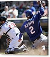 Texas Rangers V Minnesota Twins 4 Canvas Print