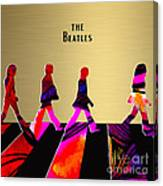The Beatles Gold Series Canvas Print