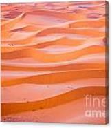 The Beautiful Silence Of The Sahara Desert Canvas Print