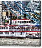 The Dixie Queen Paddle Steamer Canvas Print