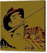 The Jazz Flutist Canvas Print