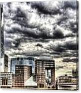 The Shard And South Bank Canvas Print