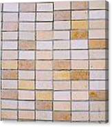 Tiles Background Canvas Print