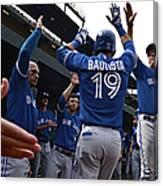 Toronto Blue Jays V Baltimore Orioles Canvas Print