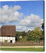 Traditional Cottage Sussex Uk Canvas Print