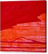 Tres Orejas Original Painting Canvas Print