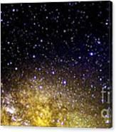 Under The Milky Way Canvas Print