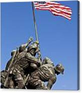 Us Marine Corps Memorial Canvas Print