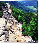 View From Atop Seneca Rocks Canvas Print