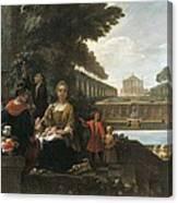 Viladomat I Manalt, Antoni 1678-1755 Canvas Print
