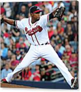 Washington Nationals V Atlanta Braves 4 Canvas Print