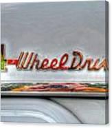 4 Wheel Drive Canvas Print