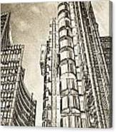 Willis Group And Lloyd's Of London Art Canvas Print