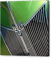 40 Ford - Grill Detail-8633 Canvas Print