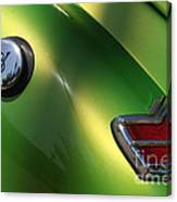 40 Ford - Tank N Tail Light-8527 Canvas Print