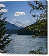 40620-3 Detroit Lake And Mt Jefferson Canvas Print