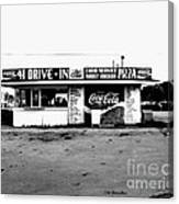 41 Drive In-manchester Tennessee Canvas Print