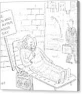 New Yorker September 4th, 2006 Canvas Print