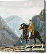 410 Peruvian Mountain Trail Canvas Print