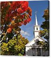 Lunenburg, Ma - Fall Foliage Canvas Print