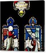 Religious Stained Glass Window Canvas Print