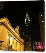 42nd Street Night Canvas Print