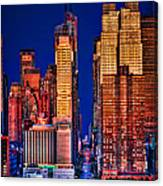 42nd Street Canvas Print