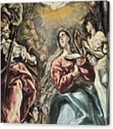 Greco, Dom�nikos Theotok�poulos, Called Canvas Print