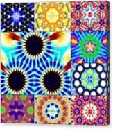 432hz Cymatics Grid Canvas Print
