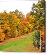 Fall Foliage In New England Canvas Print