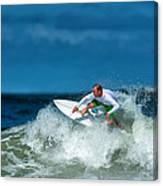 Surfing Fun Canvas Print