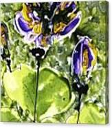 Heavenly Flowers Canvas Print