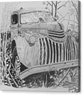 46 Chevy Treasure Canvas Print