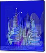 461 - City Of Future 2 .... Canvas Print