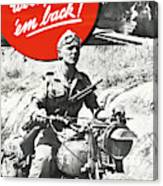 Wwii Poster, C1943 Canvas Print