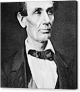 Abraham Lincoln (1809-1865) Canvas Print