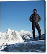 Mountaineering Canvas Print