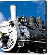 480 Locomotive Canvas Print