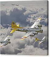 487th Bomb Group Canvas Print