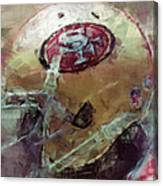 49ers Art Canvas Print