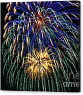4th Of July 2014 Fireworks Mannington Wv 1 Canvas Print