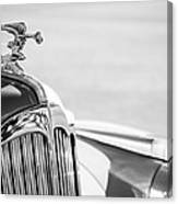 1942 Packard Darrin Convertible Victoria Hood Ornament Canvas Print