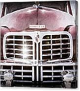 1948 Lincoln Continental Grille Emblem Canvas Print