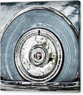 1956 Ford Thunderbird Spare Tire Canvas Print