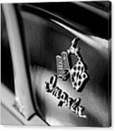 1958 Chevrolet Impala Emblem Canvas Print