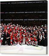2015 Nhl Stanley Cup Final - Game Six Canvas Print