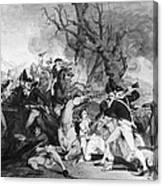 Battle Of Princeton, 1777 Canvas Print